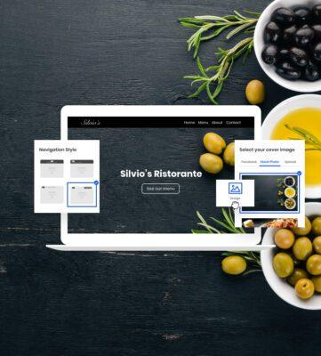 أداة إنشاء موقع الكتروني