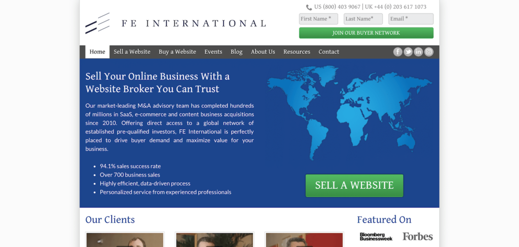 بيع موقعك الالكتروني